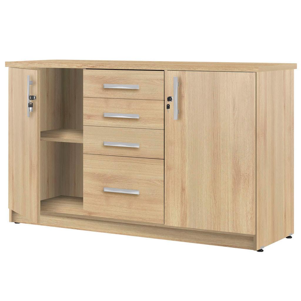 Armário balcão com gaveteiro