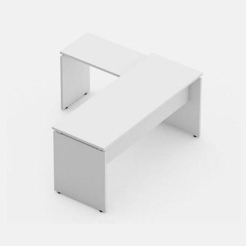 Mesa auxiliar com rebaixo