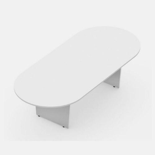 Mesa de reunião oval