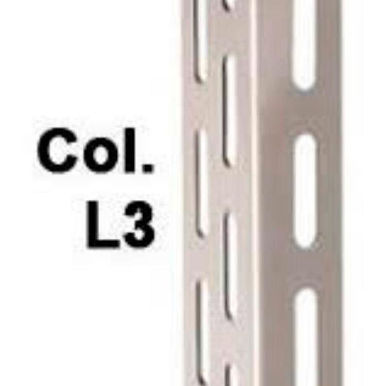 Estante de aço chapa 20 com coluna L3 chapa 14 reforçada