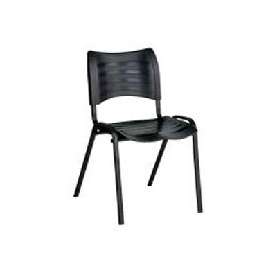 Cadeira fixa preta