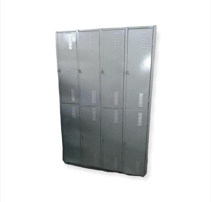 Roupeiro de Aço 08 Portas Grande - USADO/REFORMADO